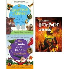 room on broom unofficial harry potter cookbook 3 Books Collection Set Brand NEW