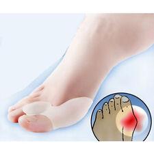 2pairs Latest Gel Silicone Bunion Corrector Toe Protector Straightener Separator