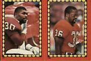 1988 Topps Stickers Football Card #s 1-284 (A5452) - You Pick - 10+ FREE SHIP
