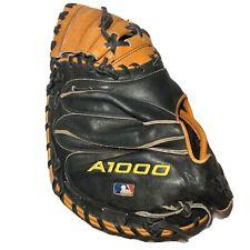 Wilson A1000 PDG Catchers Baseball Glove Catcher Mitt Tan Black Right hand Throw