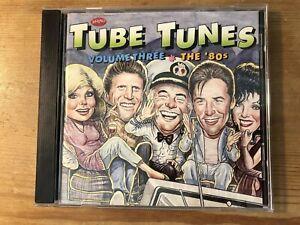 TUBE TUNES VOLUME THREE - THE 80s (Various) OOP Rhino TV Soundtrack CD NM