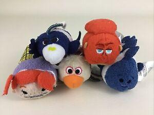 Disney Tsum Tsums Finding Nemo Plush Stuffed Bean Bag Toy 5pc Lot Darla w Tags