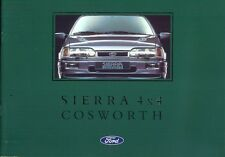 Ford Sierra Cosworth Sapphire 4x4 1990 brochure Italian market