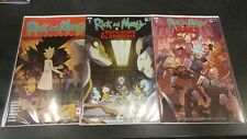 LOT OF 3 RICK & MORTY VARIANTS! WALKING DEAD & DUNGEONS & DRAGONS