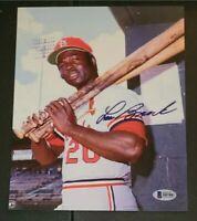 Lou Brock St Louis Cardinals 8x10 Photo AABB006