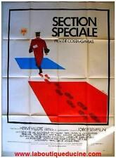SECTION SPECIALE Justice Affiche Cinéma Movie Poster COSTA GAVRAS LOUIS SEIGNER