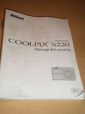 NIKON COOLPIX S220 MANUAL DEL USUARIO IN ESPANOL