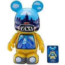 "Disney Vinylmation New York 9"" Figure ""Taxi Cab"" Mickey Mouse Ny -Tourist Gift"
