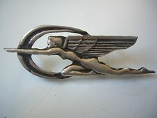 Vintage Flying Lady Pin Badge Dealership Memorabilia Emblem Hood Ornament Car