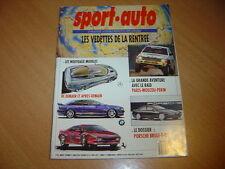 Sport Auto N°356 Dossier Porsche.