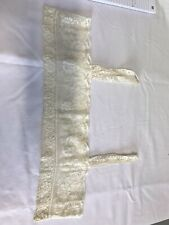 More details for edwardian lace womens chermise top hand made
