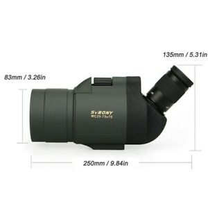 SVBONY 25-75x70 MAK Spotting Scope Telescope SV41 Refraction Zoom Spotting Scop