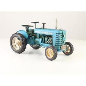 9937033 Nostalgisches Modell-Auto Oldtimer Traktor 27x16x16cm