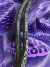 TwitchCon Twitch 2018 Exclusive Drawstring Backpack Bag Purple Brand New