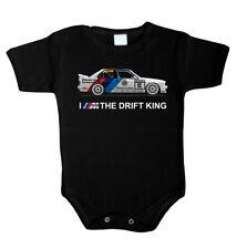 Baby Body BMW E30 I am the drift king Bodysuit Boy Girl babygrow  Jumpsuit