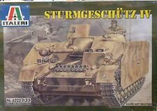 Italeri 1/35 Sturmgeschutz IV Stug German Self Propelled Gun 6223
