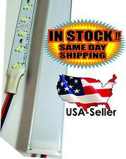 """40"""" 1m 12V 144 LED 2835 Aluminum Strip Super Bright Under Cabinet Lights 28.8W"""