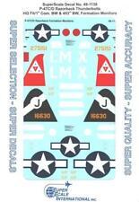 "Kits World 148079-1:48 P-47D Thunderbolts /""Fran/"" /""Tipsy/"" Decalset Neu"