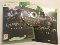 XBOX 360 GAME QUANTUM THEORY +BOX +INSTRUCTIONS / COMPLETE PAL