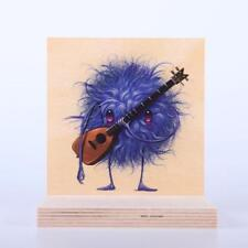 Seeker Friends #5 The Guitarist Signed / Numbered.Wood Piece Sold Out Jeff Soto*