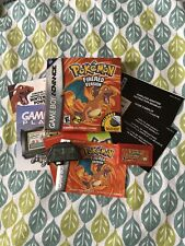 Pokemon Fire Red Version - Gameboy Advance (Boxed With Adapter + All Manuals)
