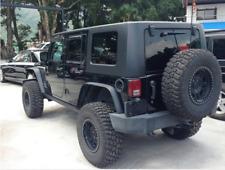 Jeep JK Wrangler 07~17 Rear Side License Plate Holder Frame With Light