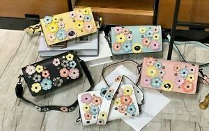 small square bag with flower fashion shoulder and messenger bag for women fancy