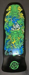 "Santa Cruz Rob Roskopp Target 5 Skateboard Deck Reissue Black Dip 10.25"""