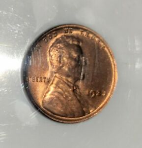 1923 LINCOLN CENT WHEAT OLD HOLDER NGC MS-65 RED EXCEPTIONAL SURFACES & STRIKE!