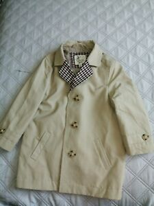 Boys River Island Trench Coat age 2-3