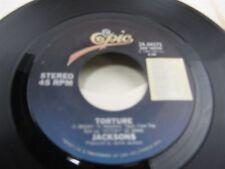 "JACKSONS Torture / Torture Instrumental   7"" vinyl Record 34-04575"