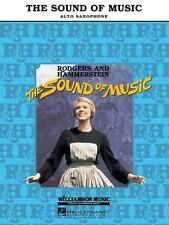 The Sound of Music: Alto Sax, Book only-ExLibrary
