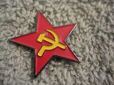 RUSSIA HAMMER & SICKLE & Socialist Red Star w/Sickle Putin Russia