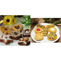 13Pcs Artificial Biscuit Simulation Cookies Fake Dessert for Mall Exhibition