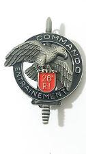 Brevet COMMANDO ENTRAINEMENT 26°RI C.E.C CEC du 26°RI - fabrication Y.DELSART