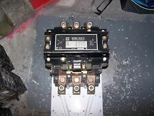 SQUARE D SIZE 5 CONTACTOR 480 VAC COIL 600 VAC 200 HP 3 PHASE 8536SG01