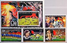 DAHOMEY 1974 605-08 A Block 49 A C243-48 Soccer World Cup Winner Fußball WM MNH