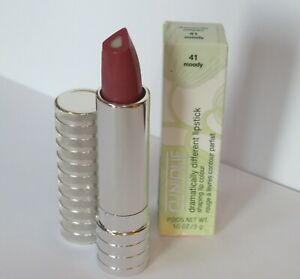 *BOXED NEW* CLINIQUE Dramatically Different Lipstick 41 Moody *Full Size*