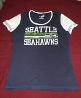 Seattle Seahawks blue womens t-shirt,NFL, Football, L