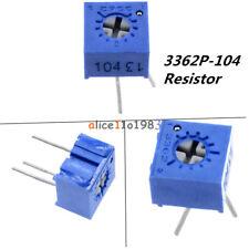 10Pcs 3362P-104 3362 P 100K ohm High Precision Variable Resistor Potentiometer A