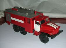 SM MADE IN UKRAINA URAL 4320 ACL-8 , 6-40 Fire Truck Russian. 1: 43 .NEW. NO BOX