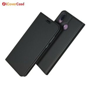 Magnetic PU Leather Flip Case Shockproof Card Cover for Huawei Honor Play