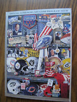 Official Super Bowl XXV Game Program - 262 pgs