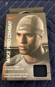 Nike Pro Dri-Fit Combat Hypercool Skull Cap Navy Brand New In Box