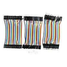 3x40pcs Good Male to Female Dupont Wire Cord Jumper Cable for Arduino Breadboard