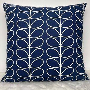 "Orla Kiely Whale Stem Linear Cushion Cover 18""x18"" Professionally Made Zipper"
