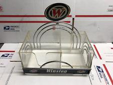 RARE Vintage Winston Cigarette Bar Caddy, Napkin Holder, Awesome Find!!! Winston