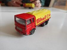 "Majorette Saviem ""Shell"" in Red/Yellow"