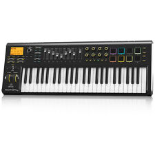 BEHRINGER MOTOR 49 49-Key USB/MIDI Controller Keyboard Motorized Faders + Pads