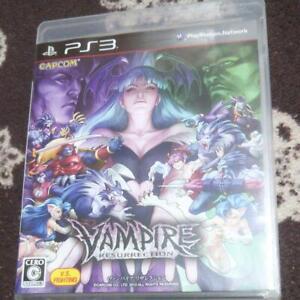 PS3 Vampire Resurrection PlayStation 3 CAPCOM Japan Import